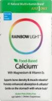 Rainbow Light Food-Based Calcium with Magnesium & Vitamin D3 Tablets
