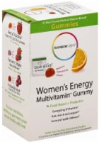 Rainbow Light Women's Energy Multivitamin Orange Zest Flavor Gummies Packets