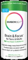 Rainbow Light Brain & Focus for Teens & Adults Food-Based Multivitamin Mini Tablets