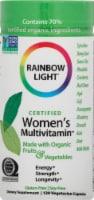Rainbow Light Organic Women's Multivitamin Vegetarian Capsules