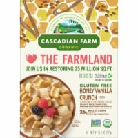 Cascadian Farm Organic Gluten Free Honey Vanilla Crunch Cereal