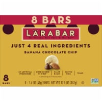 Larabar Banana Chocolate Chip Fruit & Nut Bars 8 Count