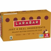 Larabar Peanut Butter Chocolate Chip Gluten-Free Snack Bars 18 Count