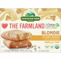Cascadian Farm Organic Vanilla Chip Blondie Soft Baked Squares