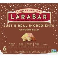 Larabar Gingerbread Limited Edition Fruit & Nut Bars - 6 ct / 1.6 oz