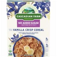 Cascadian Farm Organic No Added Sugar Vanilla Crisp Cereal - 12.5 oz
