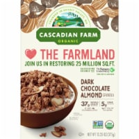 Cascadian Farm Organic Dark Chocolate Almond Granola Cereal