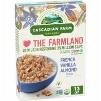 Cascadian Farm Organic French Vanilla Almond Granola Cereal