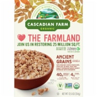 Cascadian Farm Organic Ancient Grains Granola Cereal