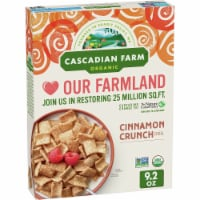 Cascadian Farm Organic Cinnamon Crunch Cereal