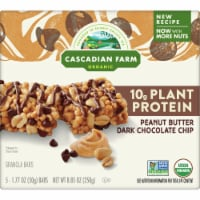 Cascadian Farm Organic Chewy Peanut Butter Chocolate Chip Protein Bars