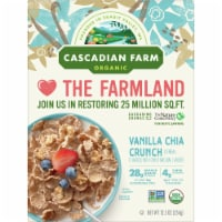 Cascadian Farm Organic Vanilla Chia Crunch Cereal