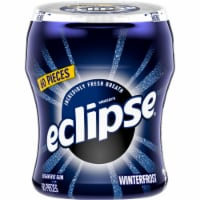 ECLIPSE Winterfrost Sugar Free Chewing Gum 60 Count