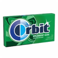 ORBIT Spearmint Sugar Free Chewing Gum 14 Count