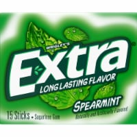 Extra Spearmint Sugarfree Gum Slim Pack