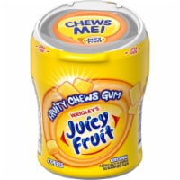 JUICY FRUIT Fruity Chews Original Sugar Free Bulk Chewing Gum 40 Count