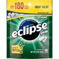 ECLIPSE Spearmint Sugar Free Bulk Chewing Gum 180 Count