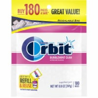 ORBIT Bubblemint Sugar Free Chewing Bulk Gum 180 Count