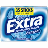 EXTRA Peppermint Sugar Free Bulk Chewing Gum 35 Count