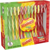 STARBURST Assorted Holiday Candy Canes