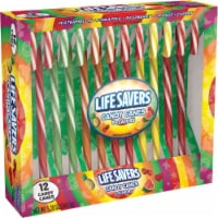 LIFE SAVERS 5 Flavor Assorted Holiday Candy Canes