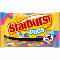 Starburst Duos Fruit Chew Candy Fun Size
