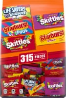 Mars Wrigley Halloween Lifesavers Starburst and Skittles Candy Pieces 315 Count
