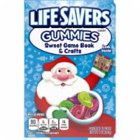 Life Savers Gummy Candy Game Book & Crafts Holiday Candy Stocking Stuffers