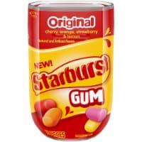 STARBURST Original Sugar Free Chewing Gum 15 Count