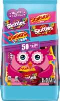 SKITTLES & STARBURST Fun Size Valentine Class Exchange Assorted Valentines Candy