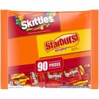 Mars Mixed Sugar Assorted Fun Size Halloween Candy Variety Bag - 90 ct