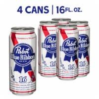Pabst Blue Ribbon - 4 Cans/16 Fl Oz