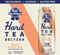 Pabst Blue Ribbon Peach Black Tea Hard Tea Seltzer