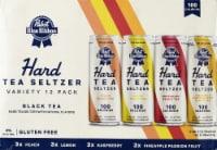 Pabst Blue Ribbon Hard Tea Seltzer Variety Pack - 12 cans / 12 fl oz