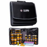 Med Manager XL Medicine Organizer and Pill Case, Holds (25) Pill Bottles, Black - 1