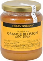 Honey Gardens Raw Orange Blossom Honey