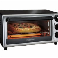 Hamilton Beach 31122 9 in. Modern Pizza Toaster Oven, Black