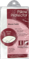 Rest Right Satin Pillow Protector - White