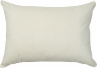 AllerEase Organic Cotton Allergy Protection Pillow - White