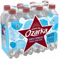 Ozarka Simply Bubbles Sparkling Spring Water - 8 bottles / 16.9 fl oz