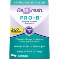 RepHresh Pro-B Probiotic Feminine Supplement Capsules