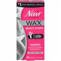Nair Wax Ready Strips for Legs & Body