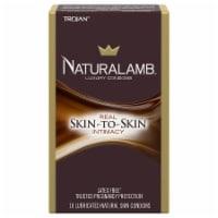 Trojan Naturalamb Skin-to-Skin Real Intimacy Luxury Condoms