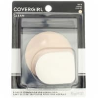 CoverGirl Clean 105 Simply Ivory Powder Foundation - 1 ct