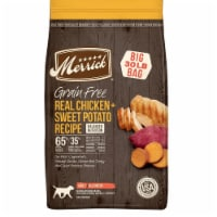 Merrick Pet Food MP38597 30 lbs Chicken & Sweet Potato Recipe Dry Dog Food - 1