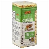 Suzie's Thin Corn Quinoa & Sesame Cakes