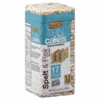 Suzie's Thin Puffed Cakes Spelt &  Flaxseed Crackers