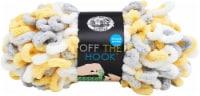 Lion Brand Off The Hook Yarn-Lemon Drop - 1