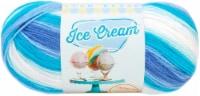 Lion Brand Ice Cream Yarn-Blue Moon - 1