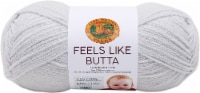 Lion Brand Feels Like Butta Yarn-Pale Grey - 1